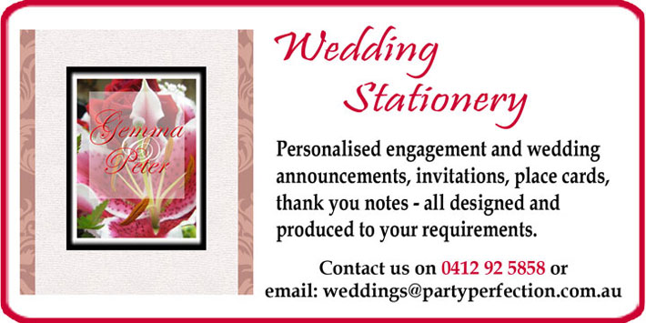 Click to read about Wedding Stationery
